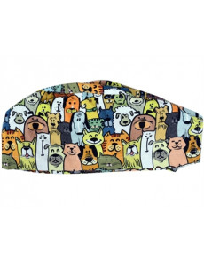 FUNNY CAP - DOG - M